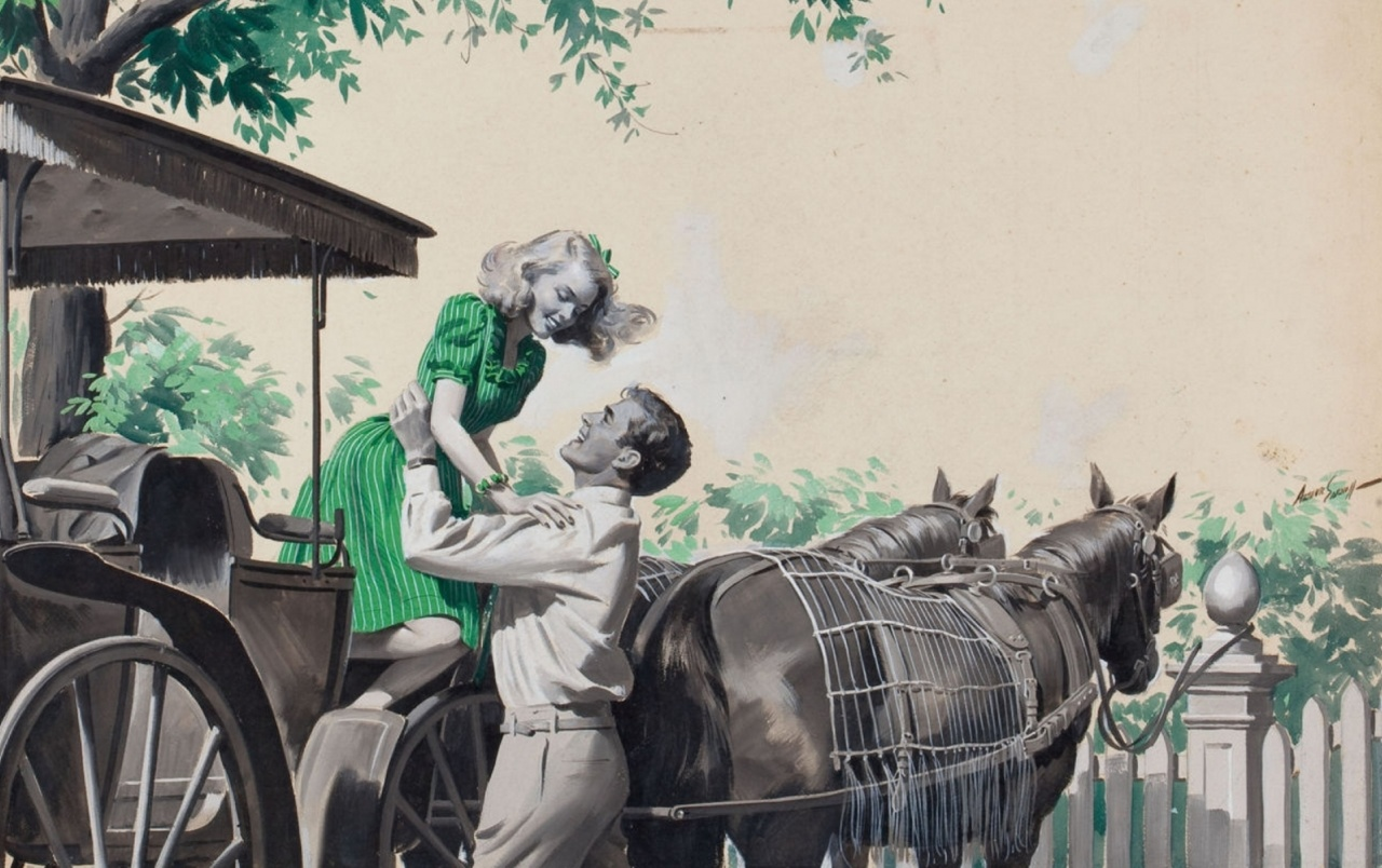 Couple Horses Carriage Home wallpapers | Couple Horses Carriage Home stock photos