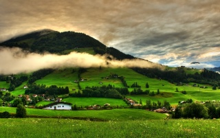 Spring Green Mountains wallpapers
