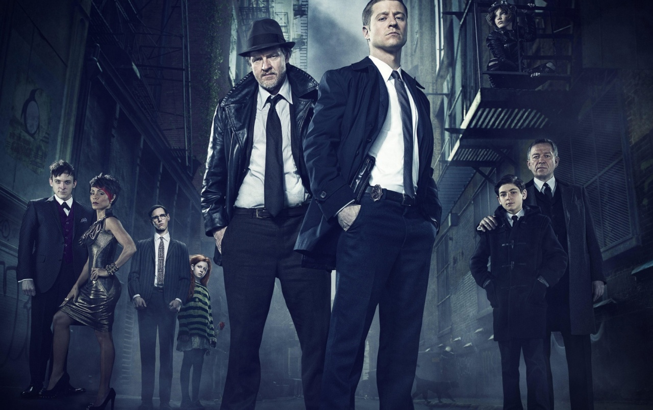 Gotham TV Show Characters wallpapers