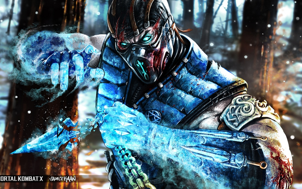 Mortal Kombat X Subzero Wallpapers Mortal Kombat X Subzero Stock