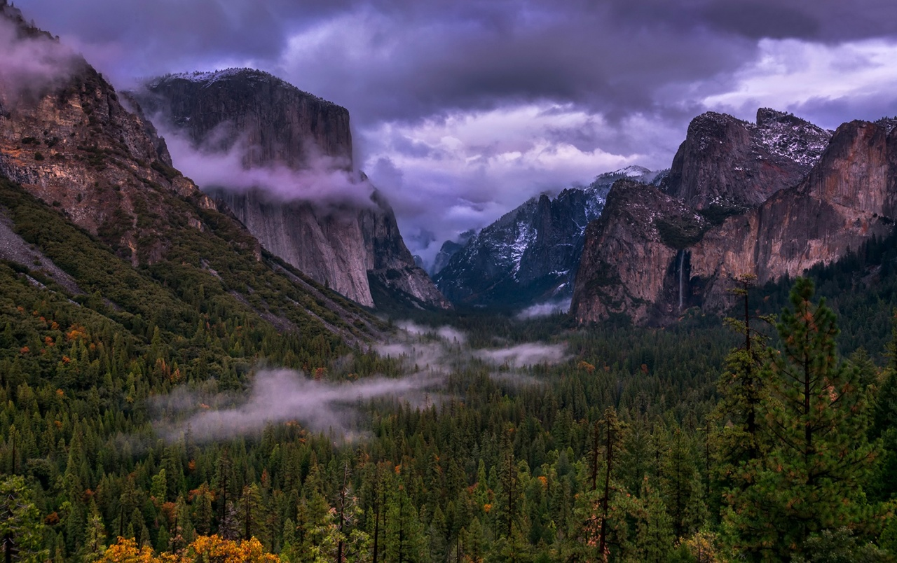 Kalifornien Yosemite-National P wallpapers