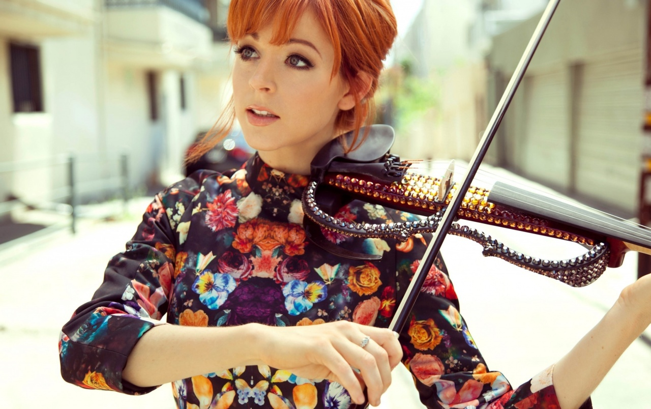 Hermosa Lindsey Stirling wallpapers
