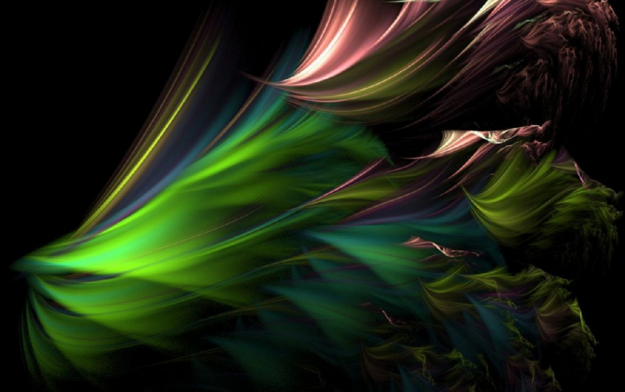 Original Fractal Peacock Feathers Wallpapers