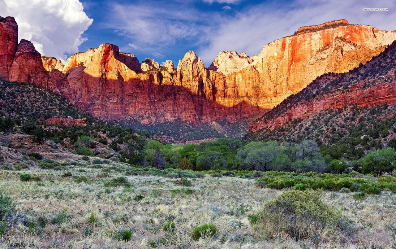 Amazing Zion National Park wallpapers