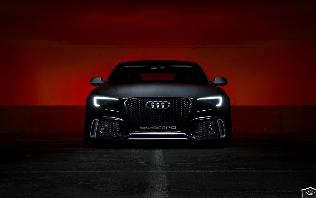 Schwarz Audi S5 Wallpapers W47224