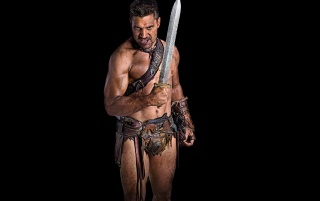 Crixus Spartacus Blood and Sand wallpapers