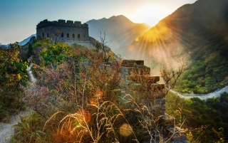 The Great Wall of China Landscape wallpapers