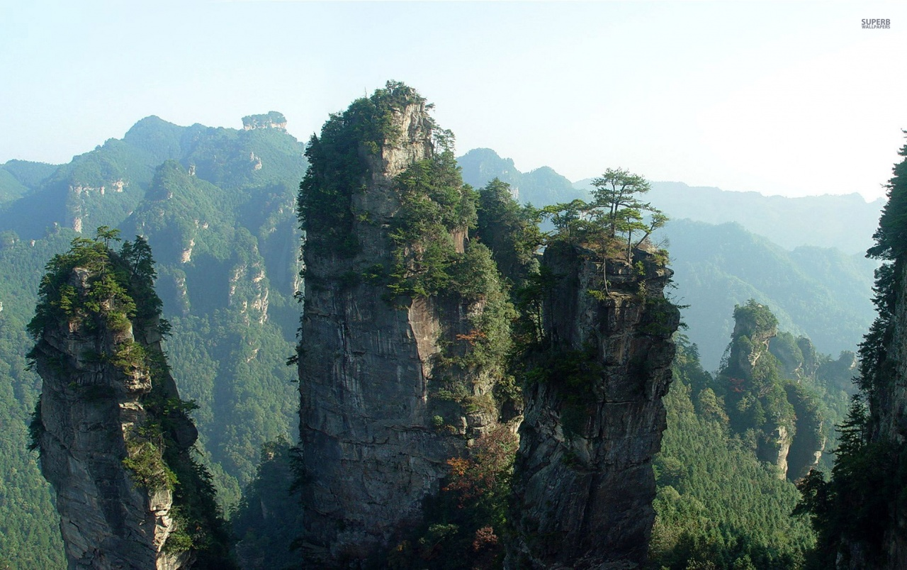 tianzi mountains china wallpapers | tianzi mountains china stock photos