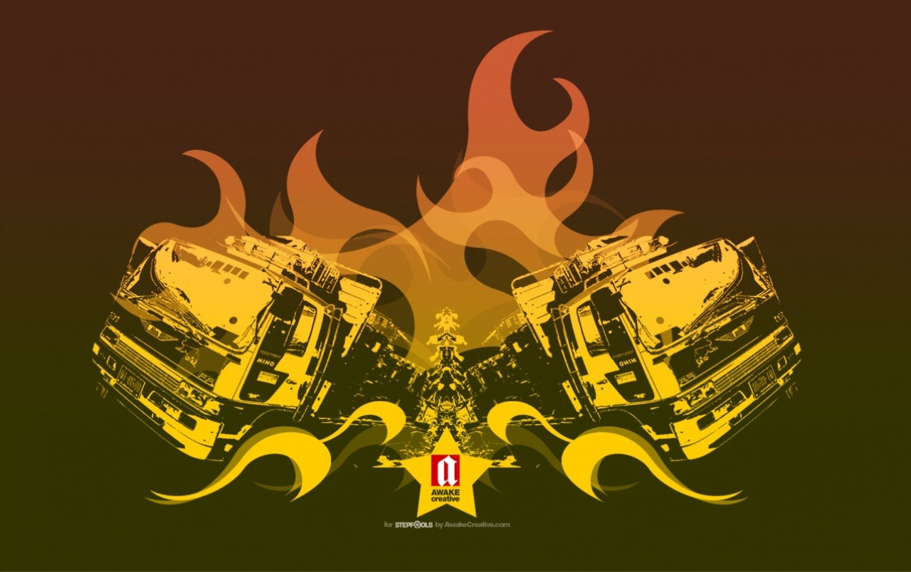 Creative Feuer wallpapers