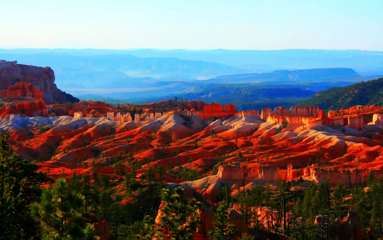 Fire Red Bryce Canyon wallpapers