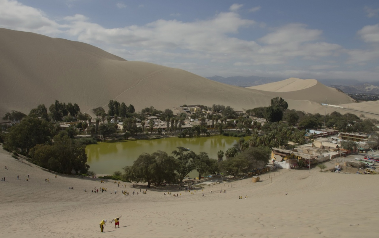 Huacachina Oasis Desert Peru Wallpapers Huacachina Oasis Desert
