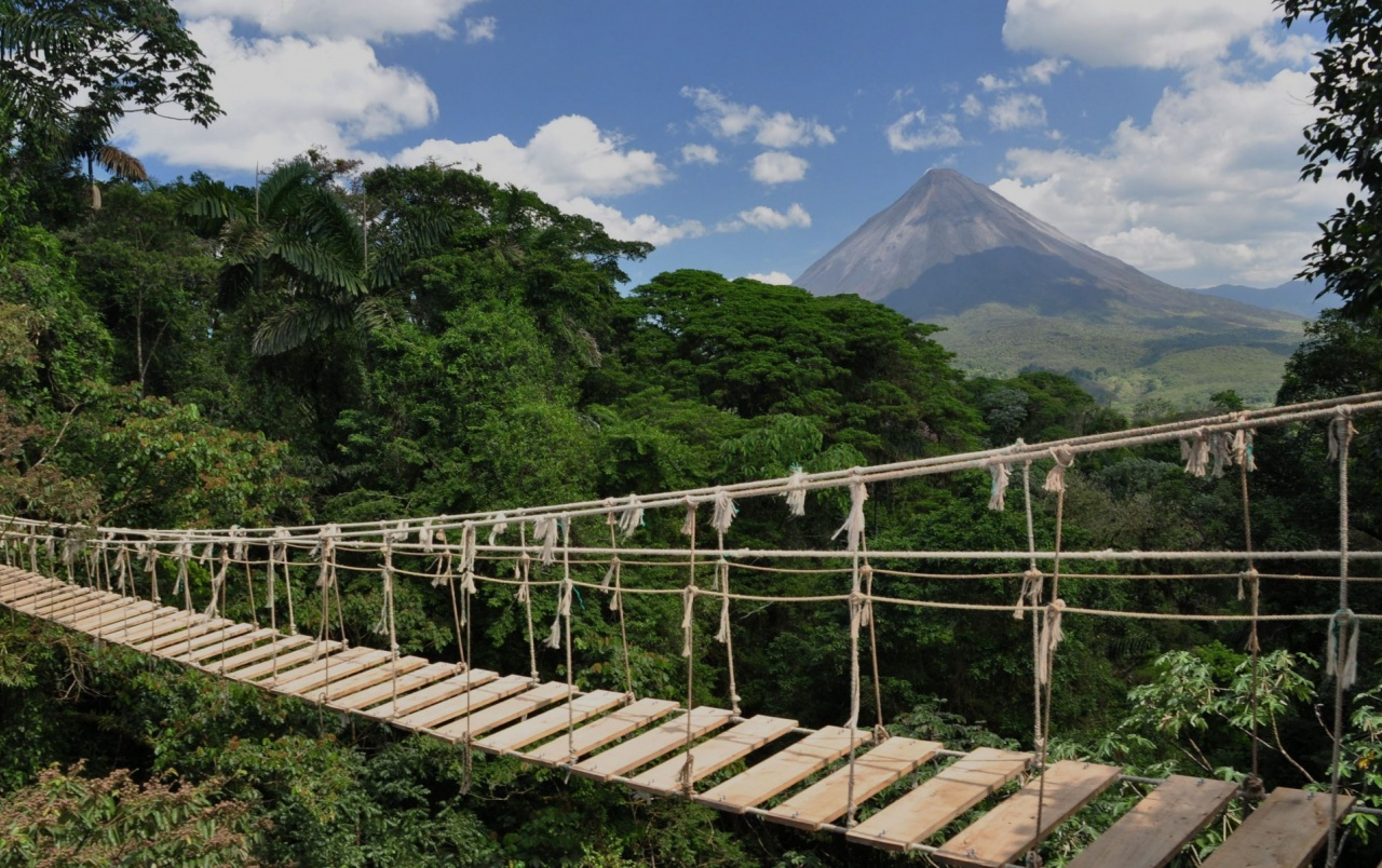 Rope Bridge Costa Rica Wallpapers