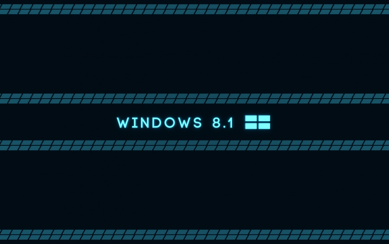 Microsoft Windows 8.1 OS Blue wallpapers