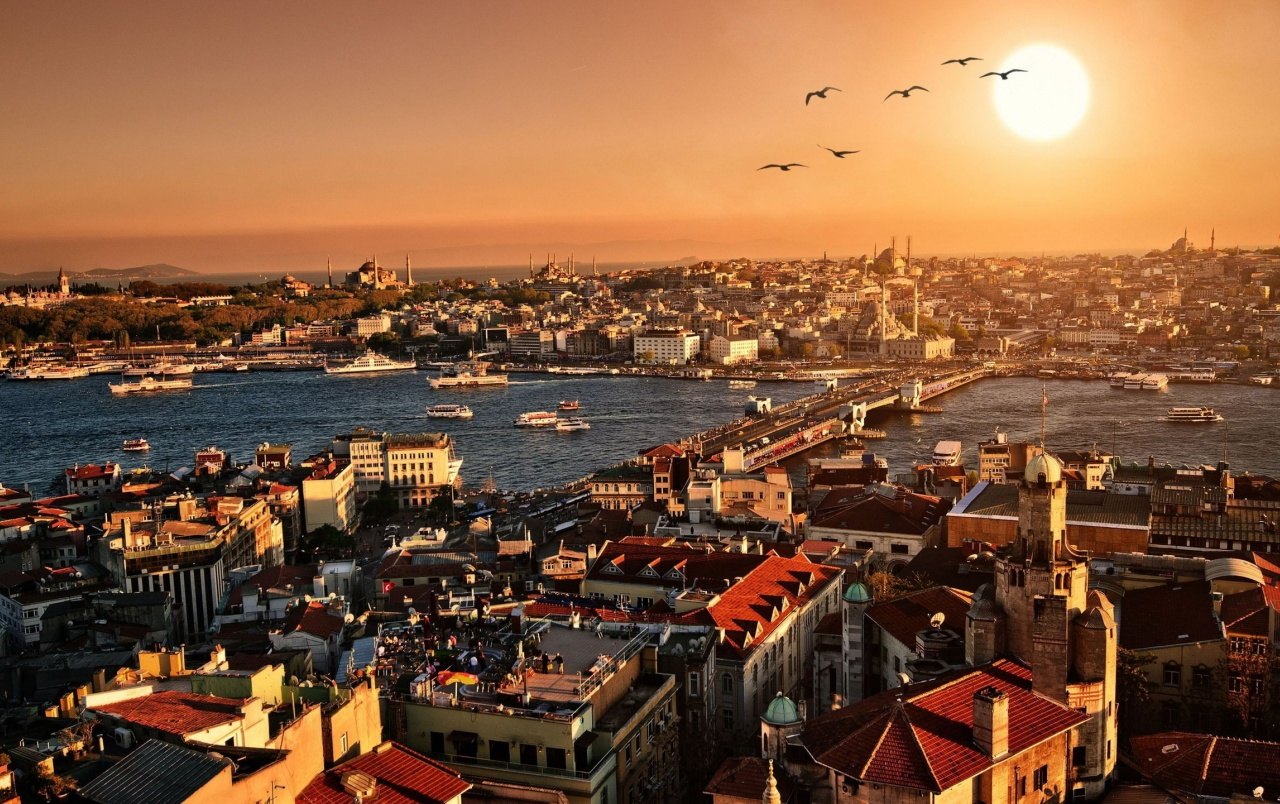 Istanbul City View wallpapers
