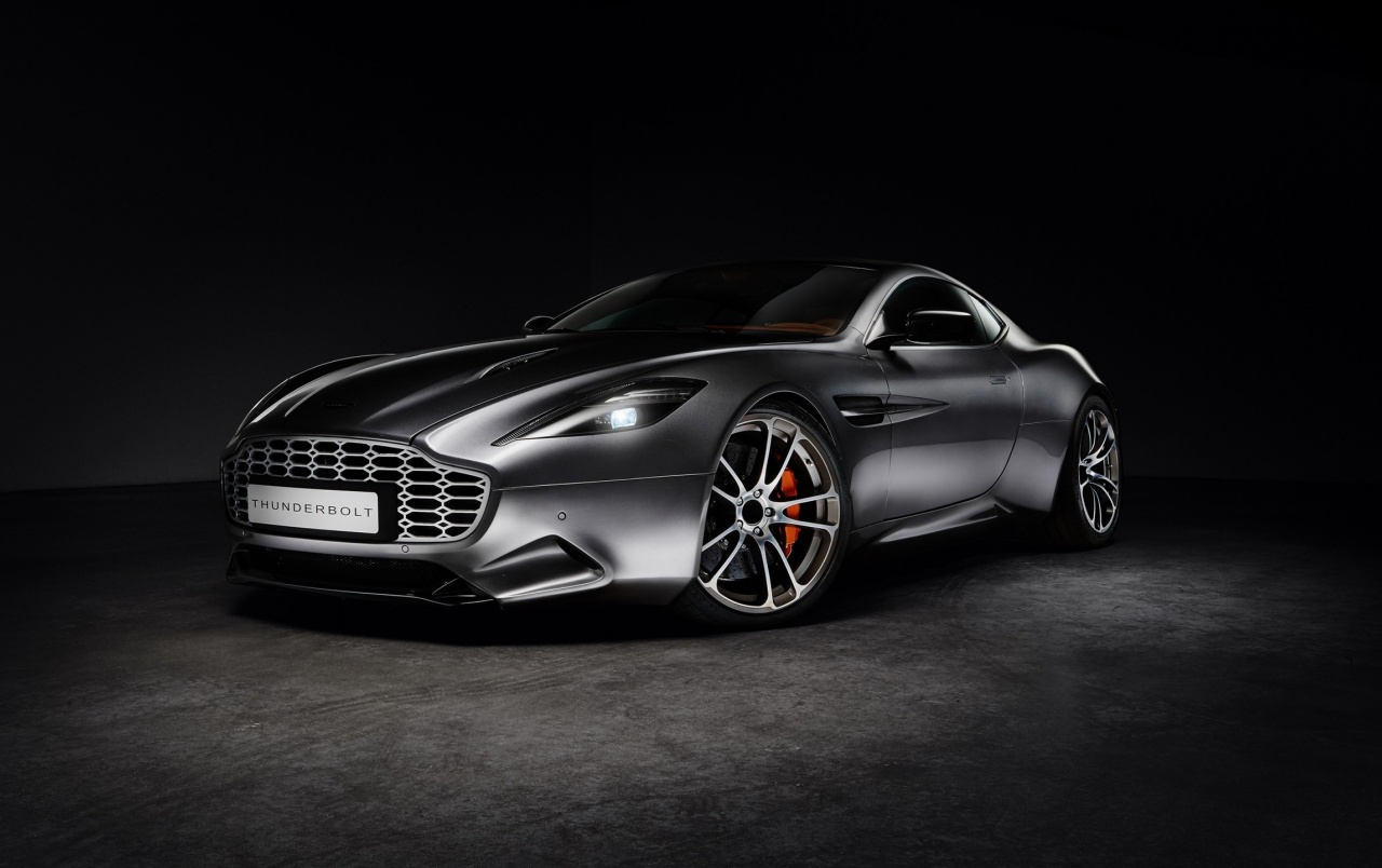 Aston Martin Thunderbolt Side Angle wallpapers