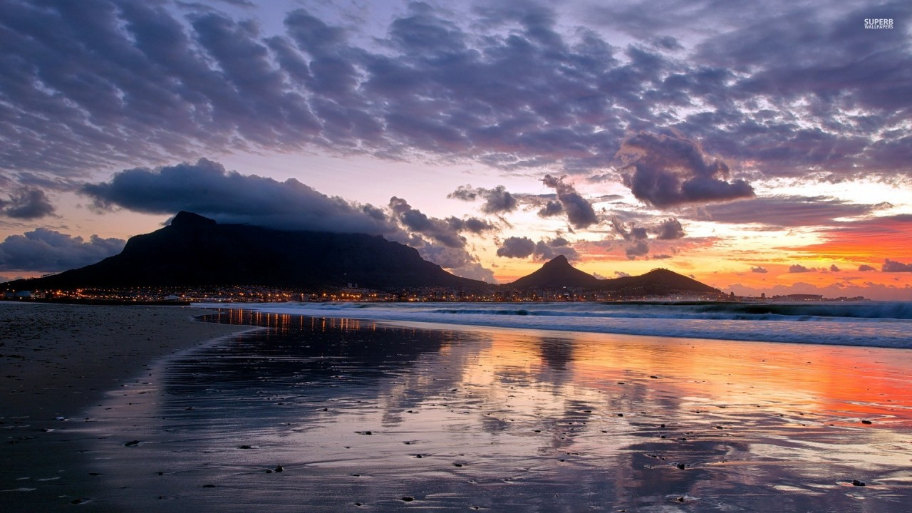 Cape Town City Wallpaper: Table Mountain Cape Town Wallpapers
