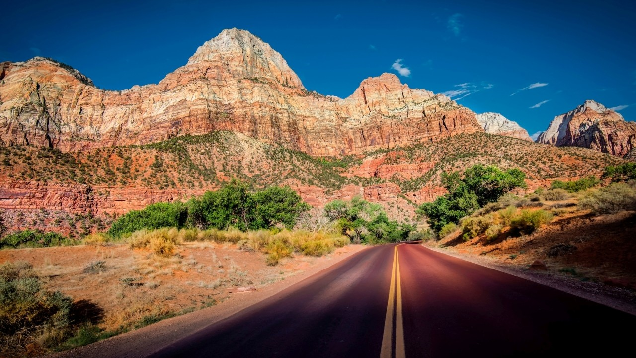 Zion National Park Sunny Day Wallpapers Zion National Park Sunny
