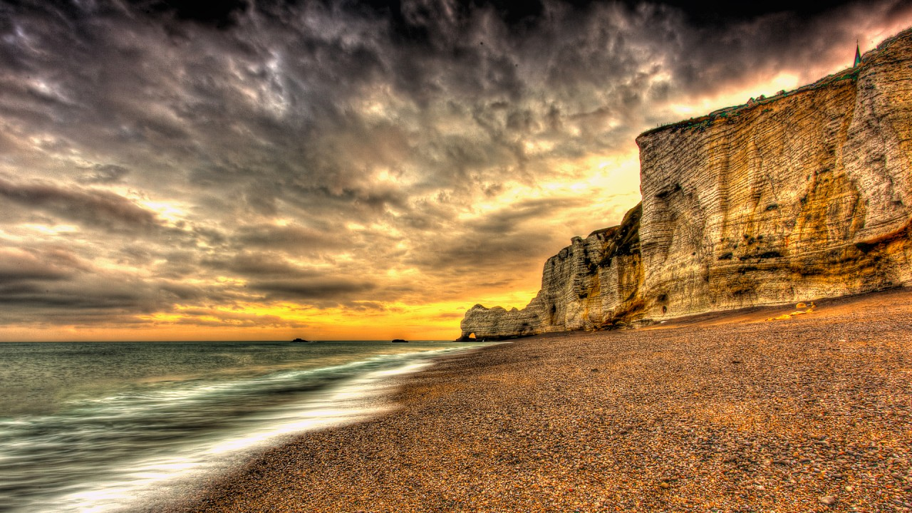 beach cliff rocky wallpaper - photo #14
