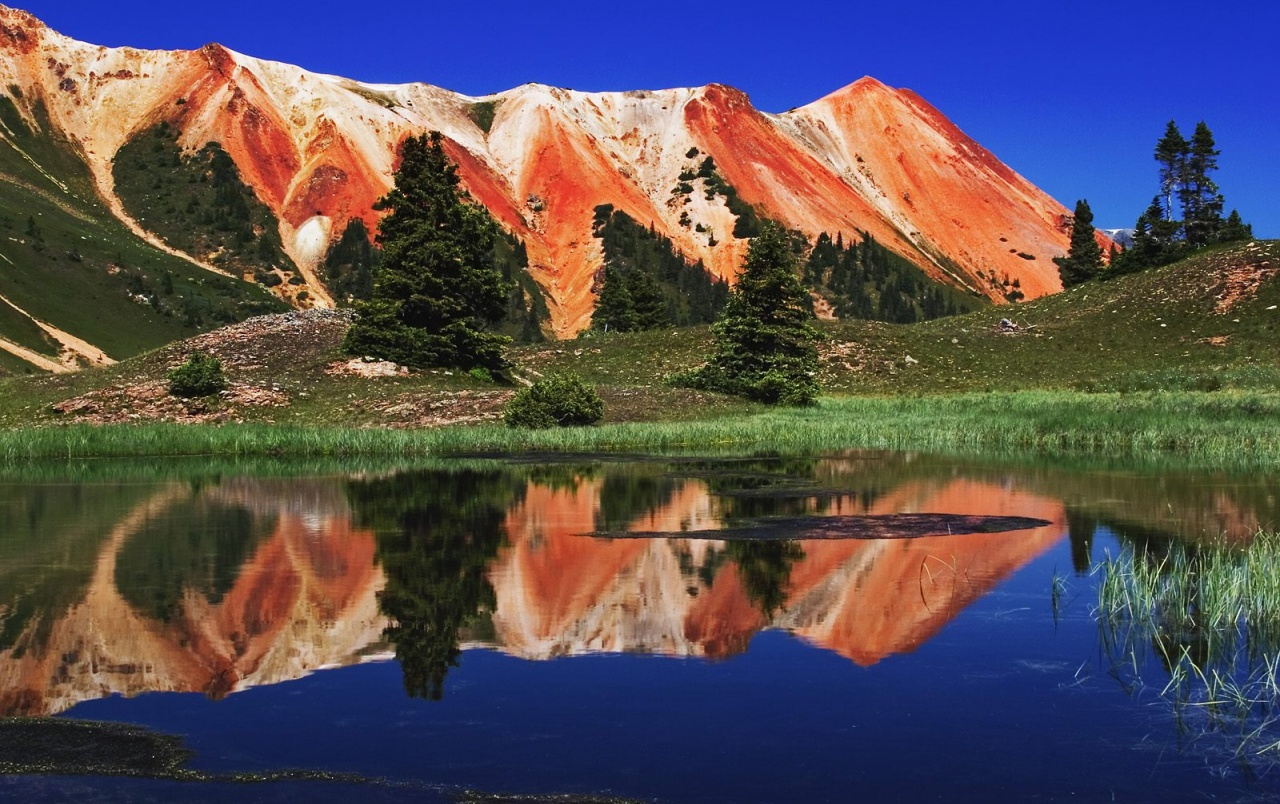 Red Mountains wallpapers