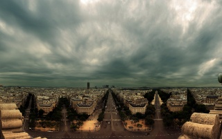 Champs Elysees Paris France wallpapers