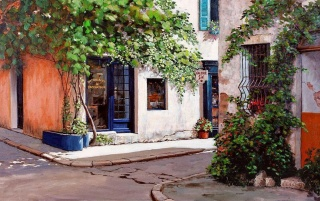 Antiques Shops Provence France wallpapers