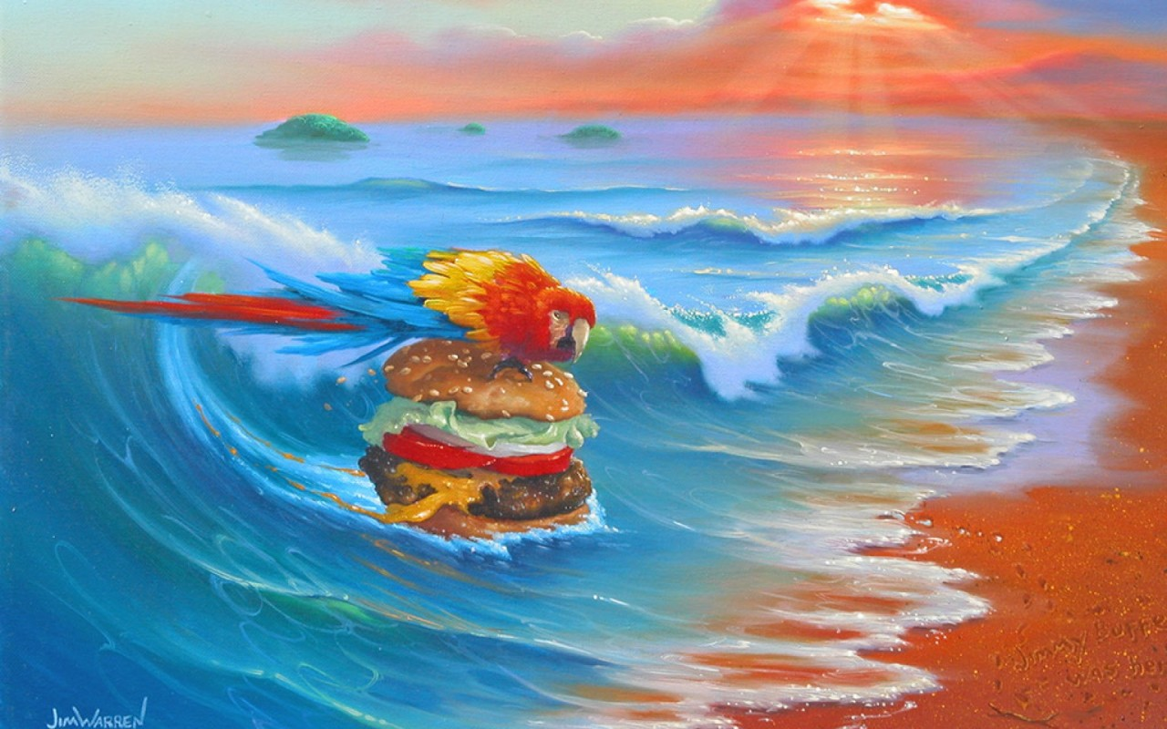 Cheeseburger Paradise wallpapers