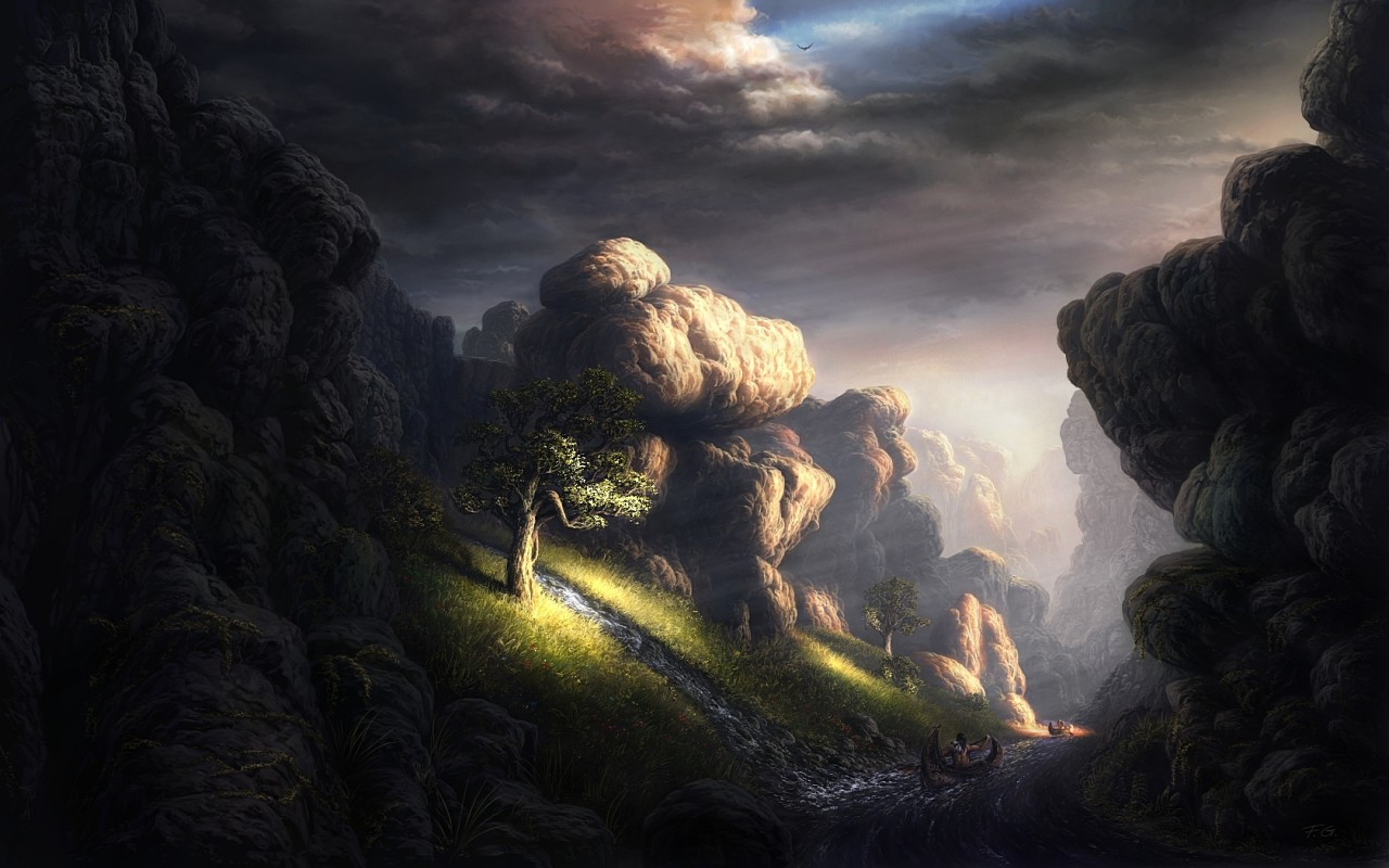 Lord Of The Rings Scenery Character