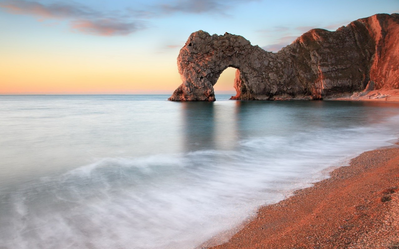 Durdle Door Coast Fiveteen wallpapers