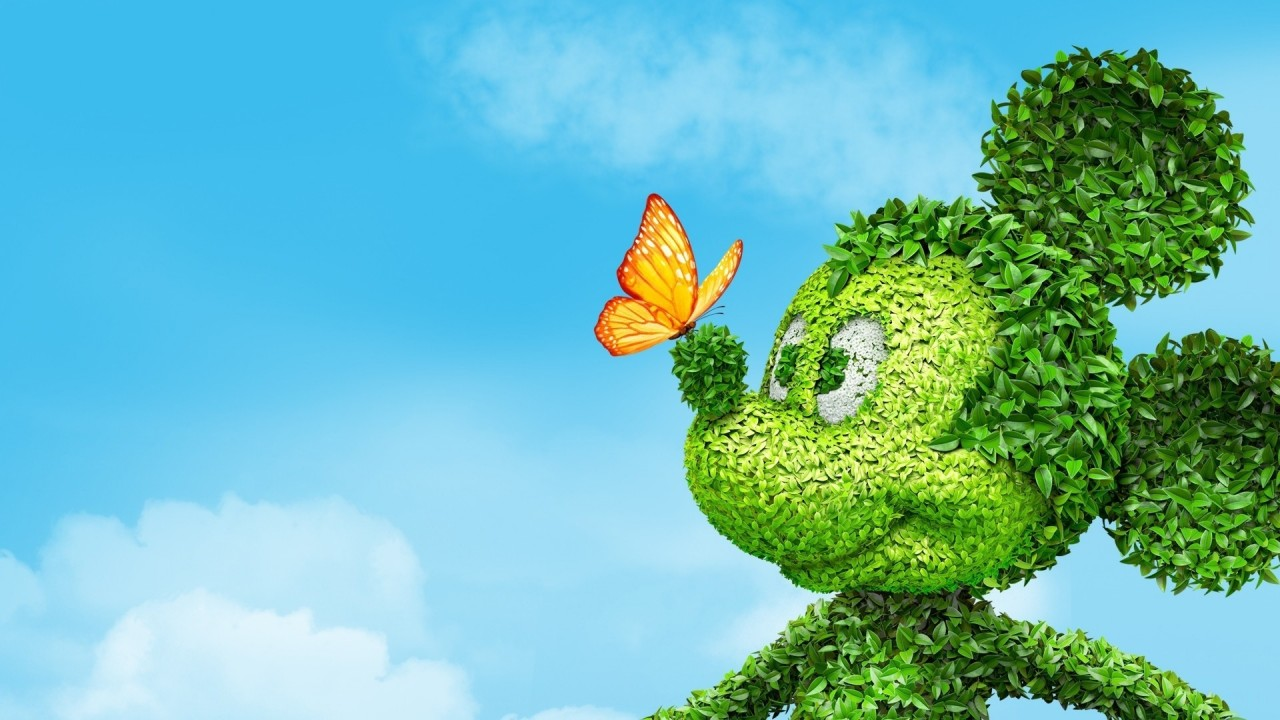 Mickey Mouse Topiary Wallpapers Mickey Mouse Topiary Stock Photos