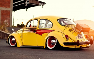 Volkswagen Beetle Classic Two wallpapers