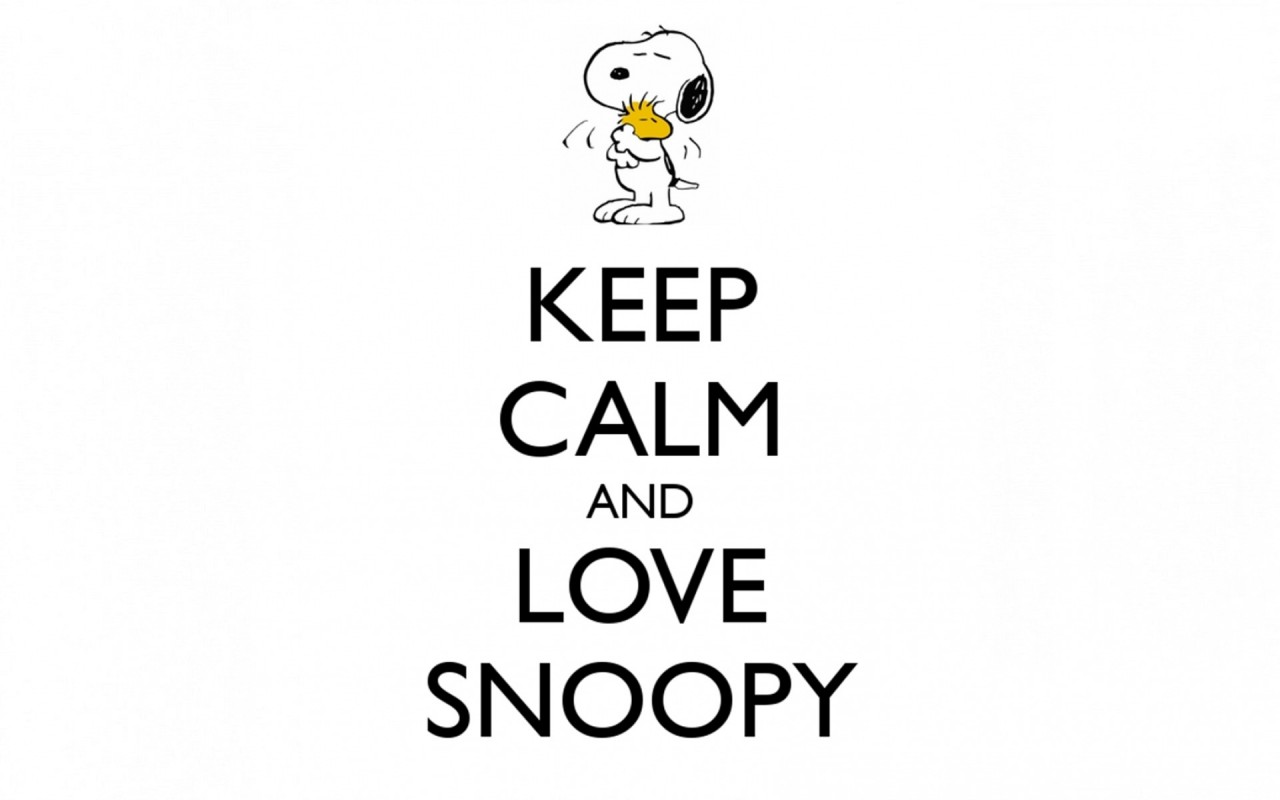 Keep Calm Love Snoopy Wallpapers_w53418 on Nokia Tab