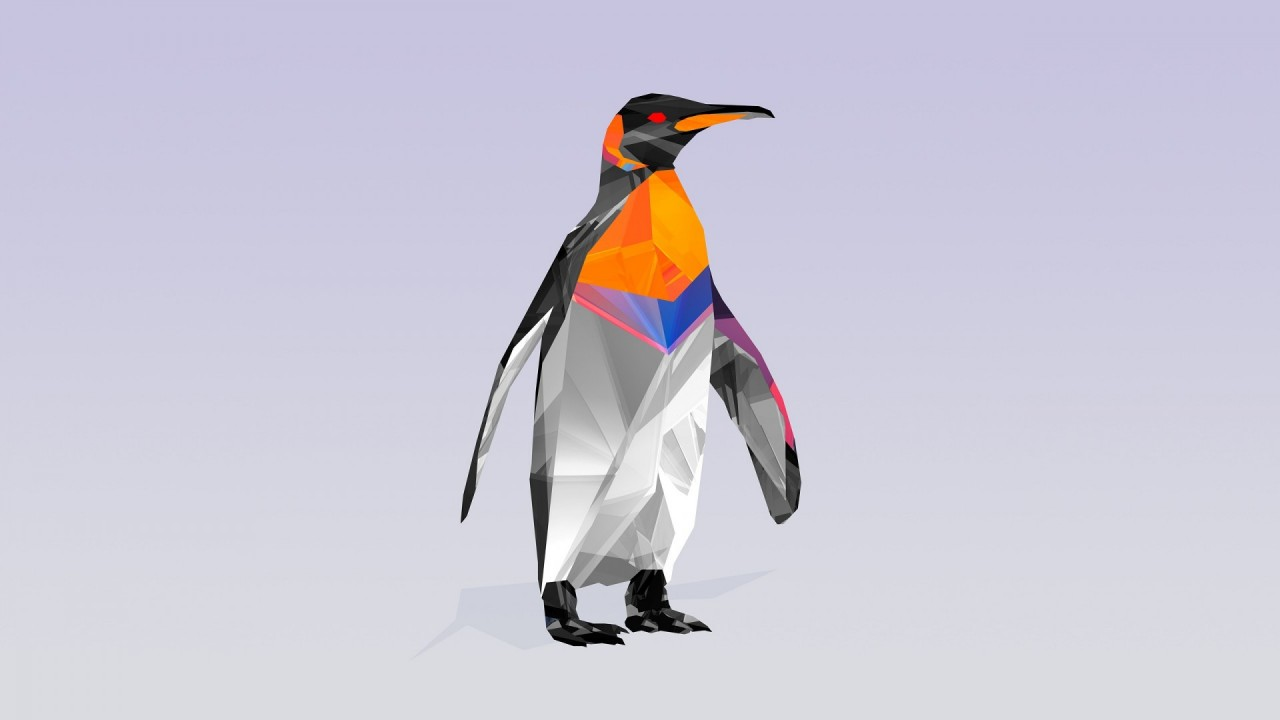 Low Poly Penguin Wallpapers Low Poly Penguin Stock Photos