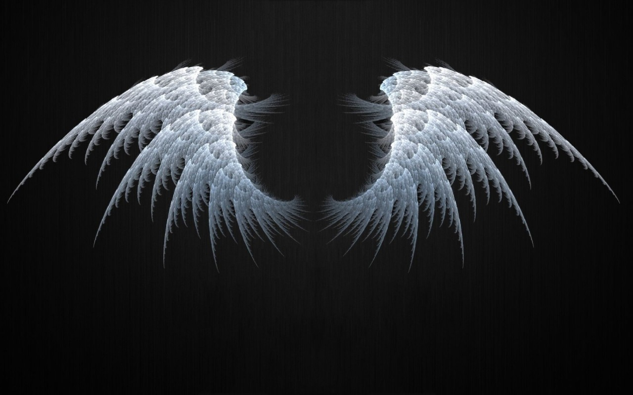 Angel Wings Fractal wallpapers | Angel Wings Fractal stock ...