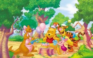 Winnie The Pooh Two wallpapers