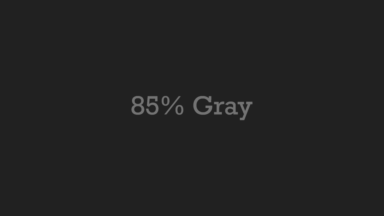 85% Grau wallpapers