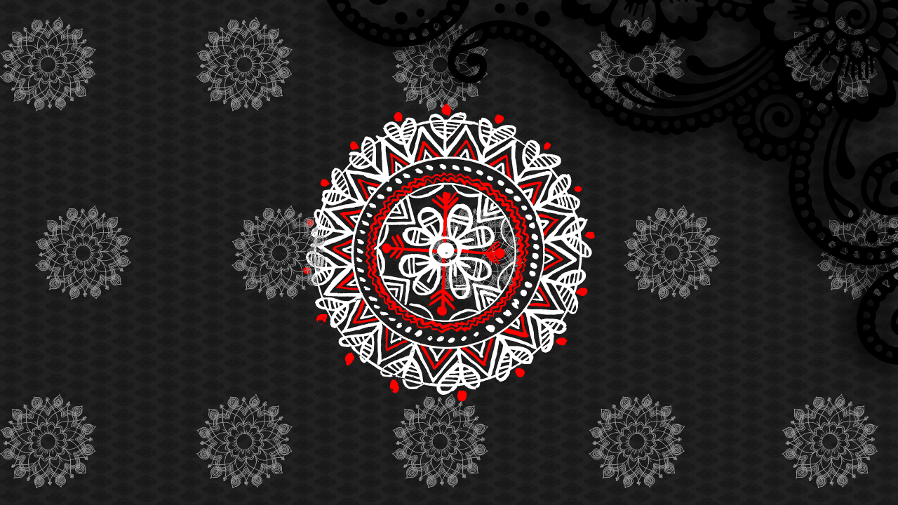Alpona Design pohela boishakh wallpapers
