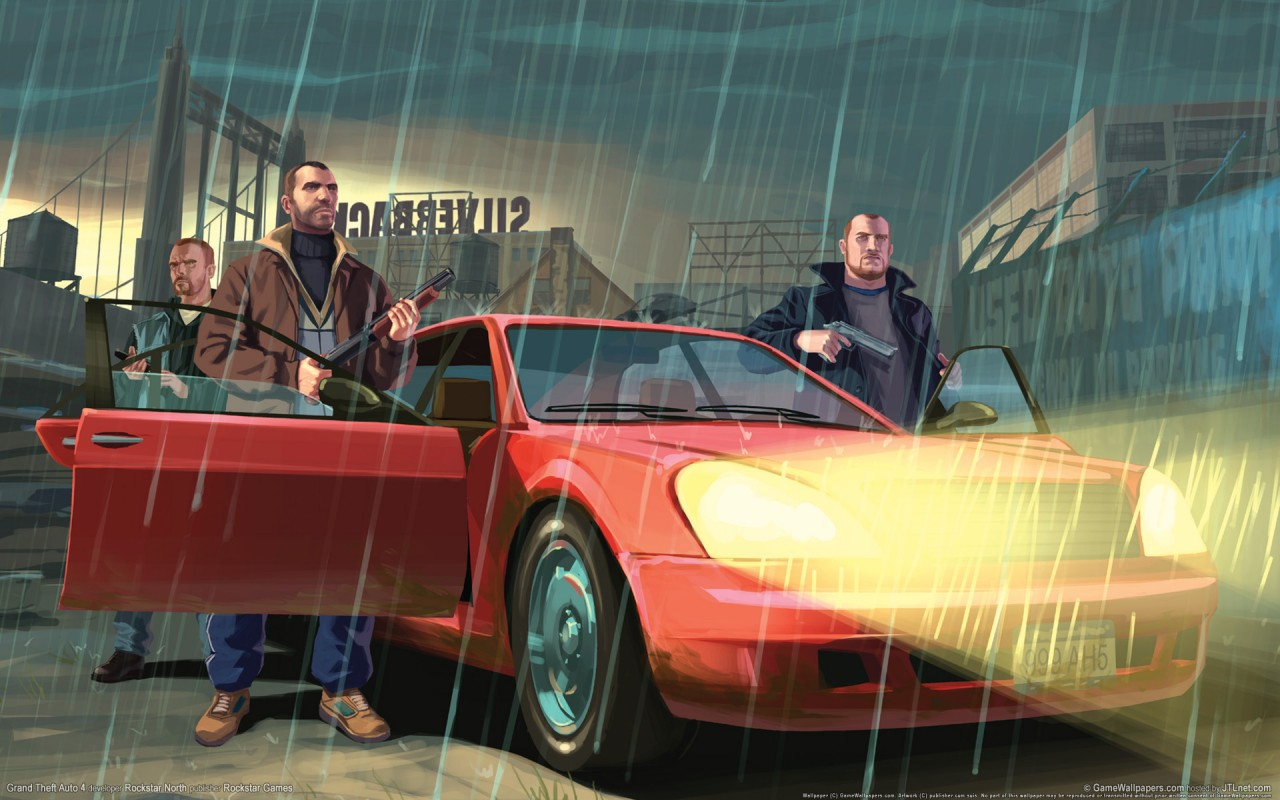 Originalwide Gta 4 Grand Theft Auto Wallpapers