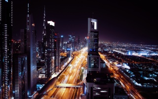 Dubai UAE Night City Wallpapers