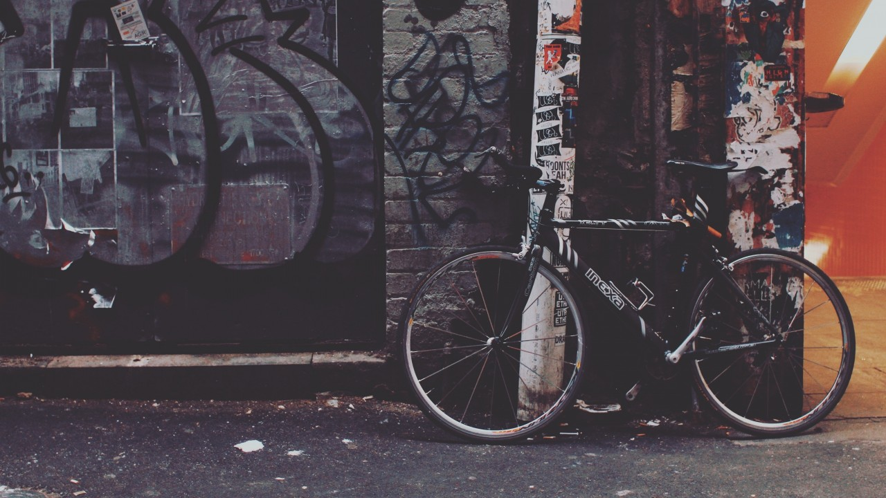 Bicycle Yard Graffiti wallpapers