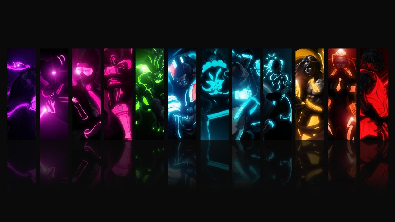 Street Fighter Tron, awesome wallpapers