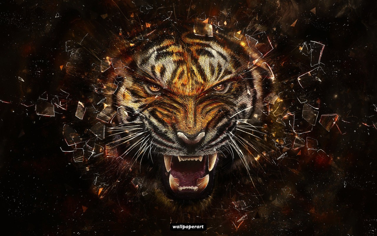 Tiger digital art wallpapers tiger digital art stock photos originalwide tiger digital art wallpapers altavistaventures