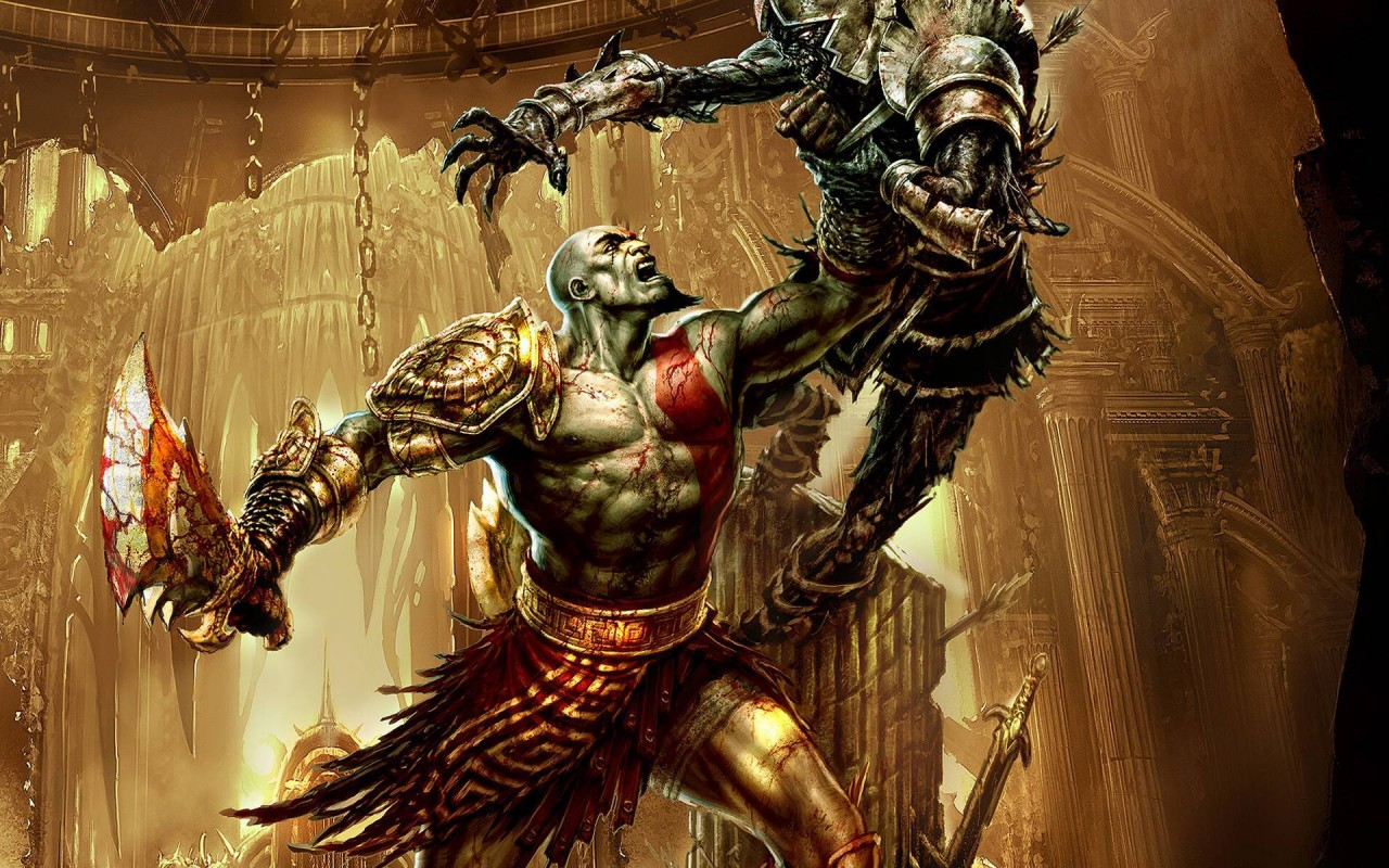 God Of War 3, games wallpapers
