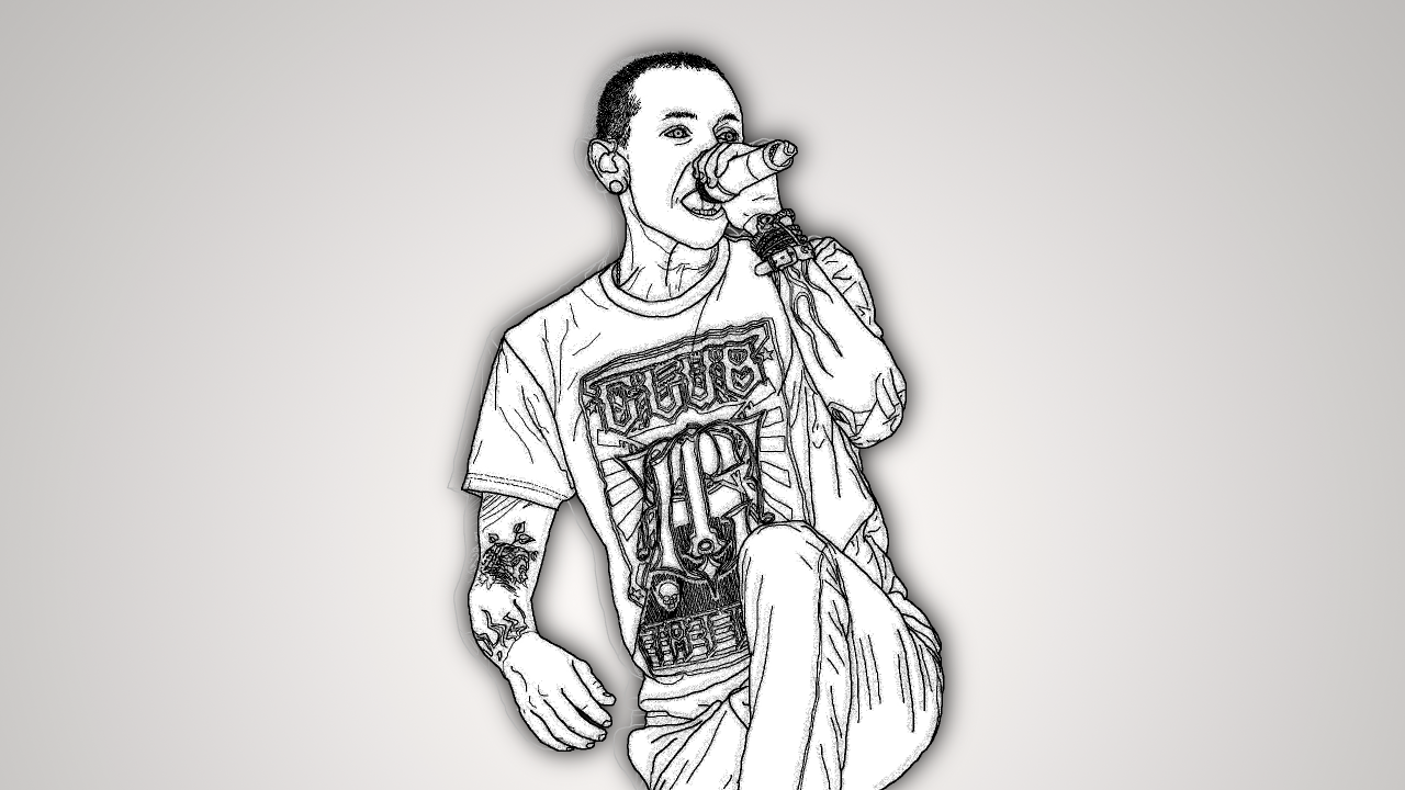 Chester Bennington-Linkin Park wallpapers
