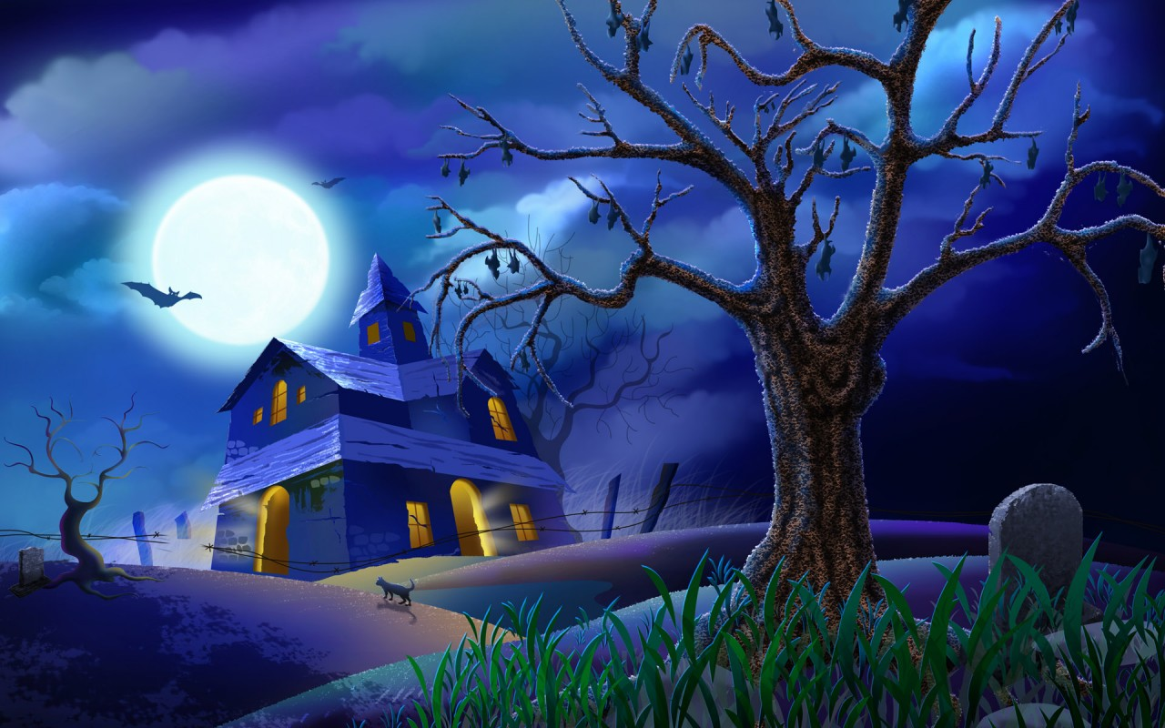 House, halloween wallpapers