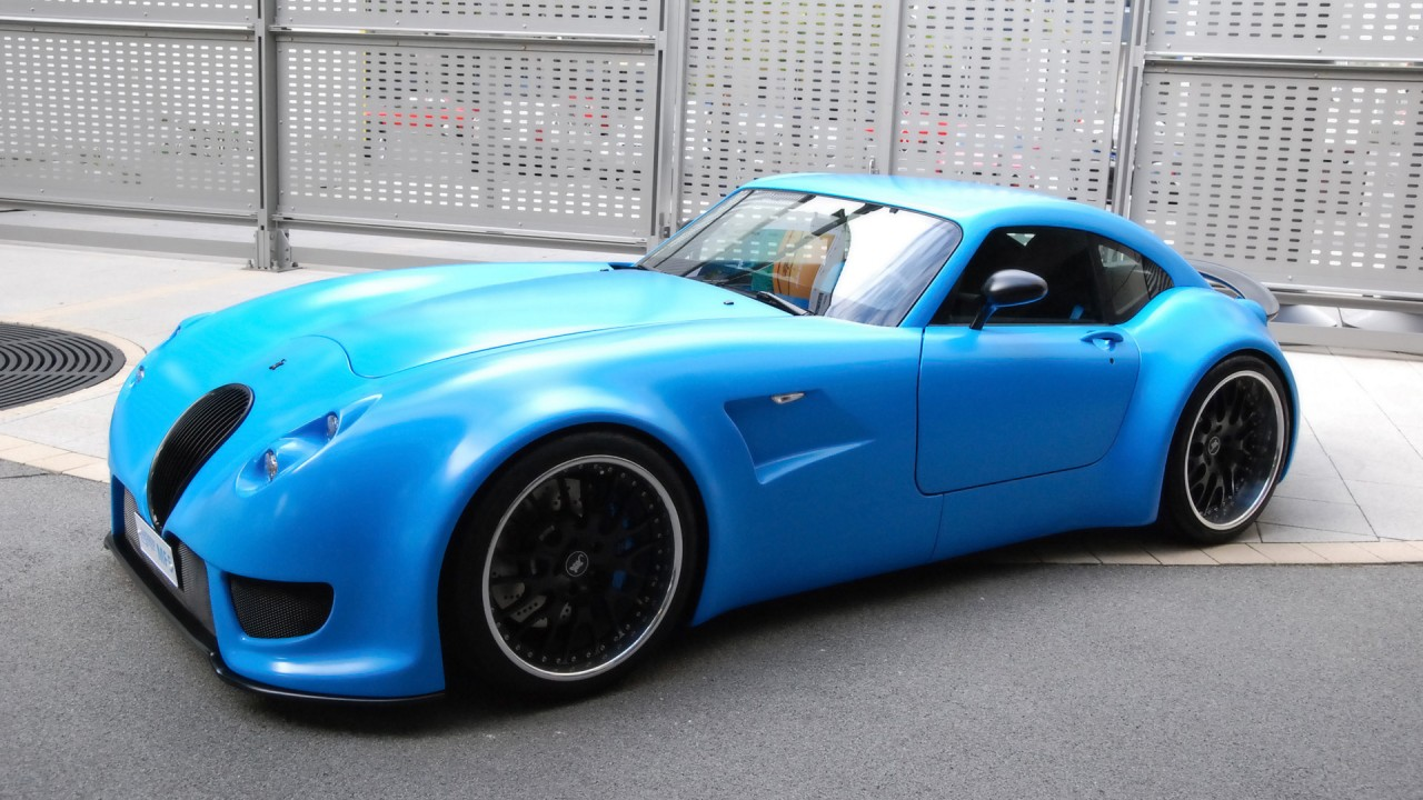 Wiesmann, blue wallpapers