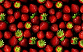 Strawberries, artistic wallpapers