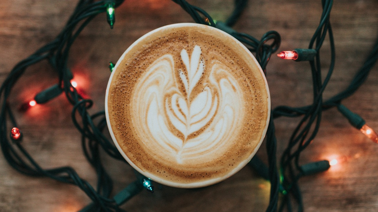 Coffee Cappuccino Foam Garland wallpapers