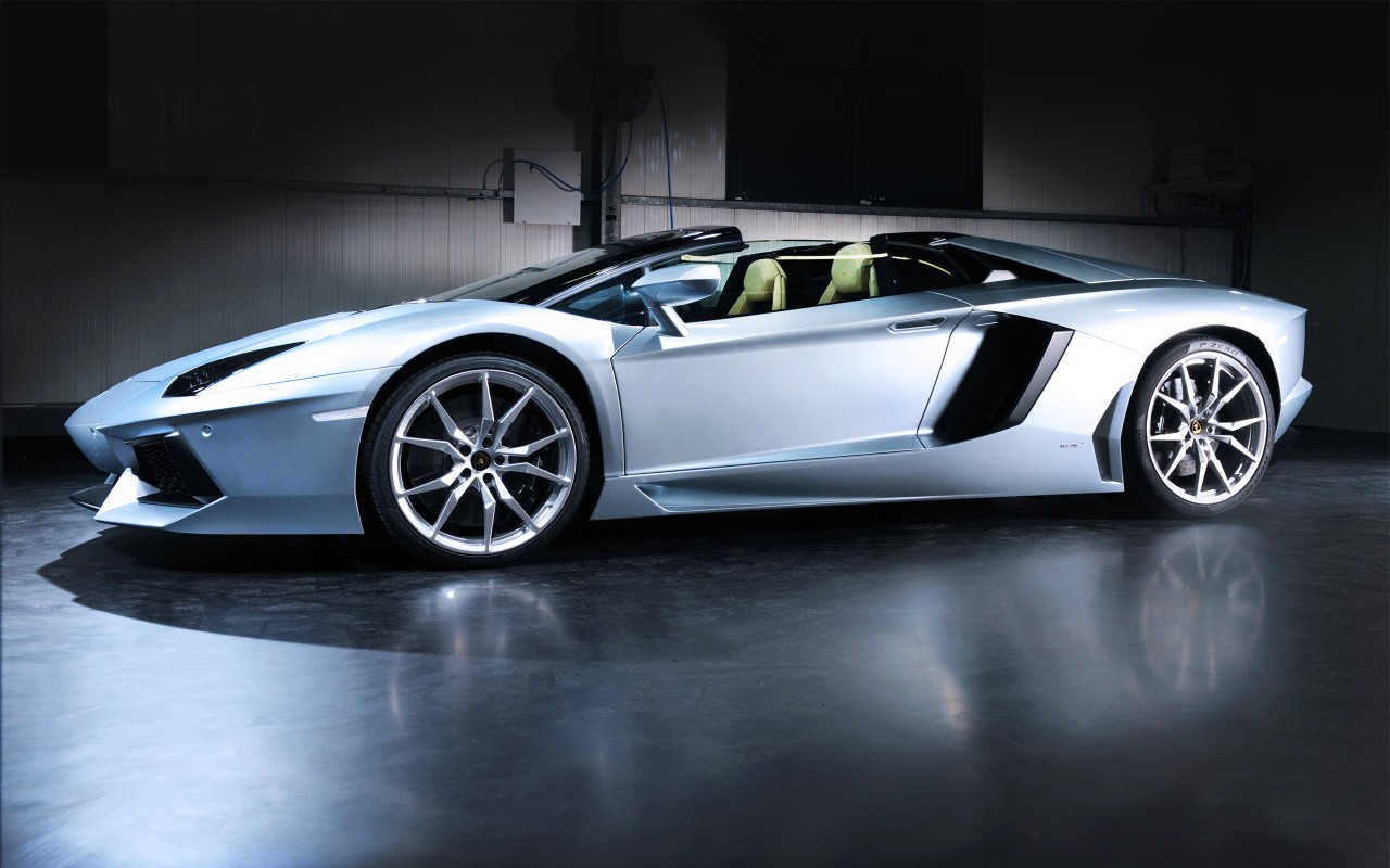 Lamborghini Aventador Roadster, cars wallpapers