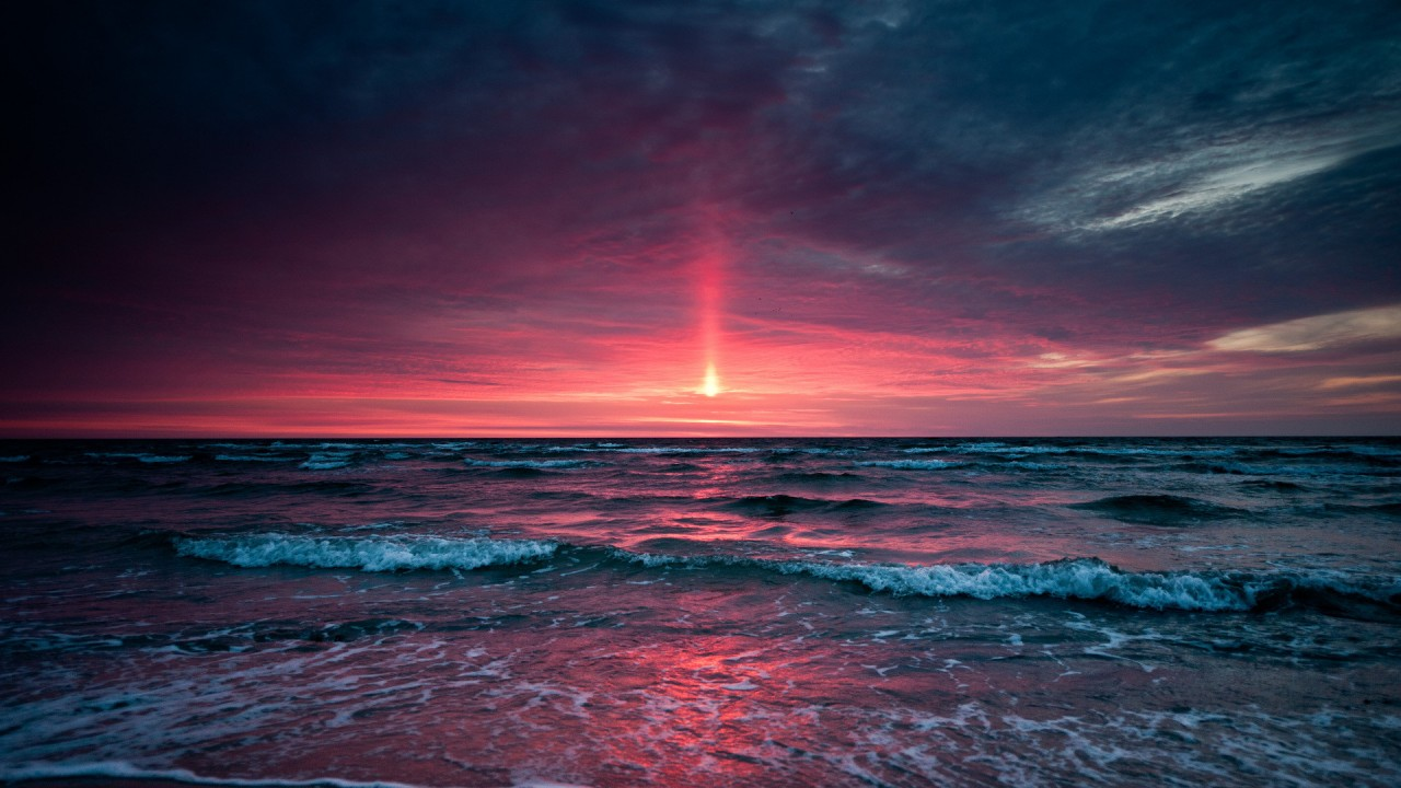 Beach Sunset, beautiful wallpapers