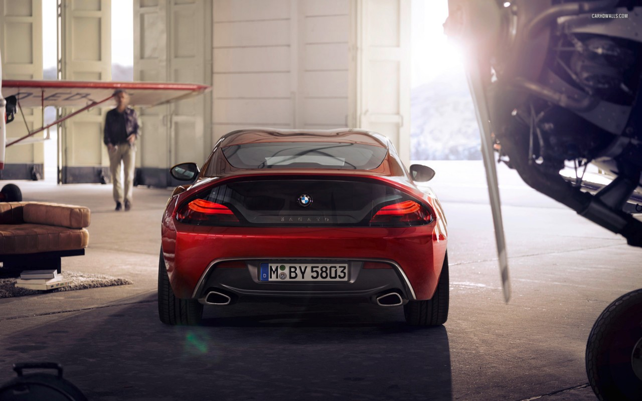 Zagato BMW Z4 Coupe 2012, cars wallpapers
